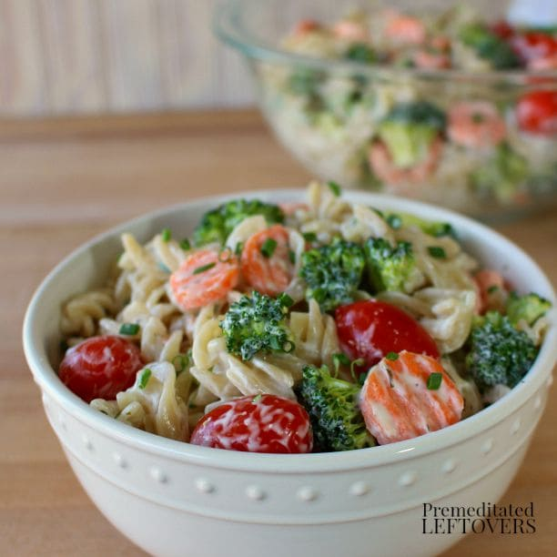 Ranch Pasta Salad with Vegetables