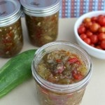 Sweet Pickle Relish Canning Recipe- Make this sweet relish with excess garden produce. You can stock your pantry or give it as gifts during the holidays!