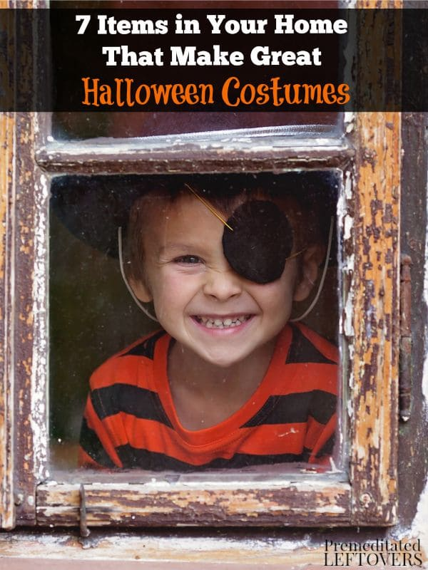 7 Items in Your Home That Make Great Halloween Costumes- Create easy and affordable Halloween costumes by utilizing these basic items from around your home.