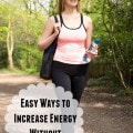 Easy Ways to Increase Energy Without Caffeine- Get more energy with these caffeine alernatives. They are healthier and easily fit into your daily routine.