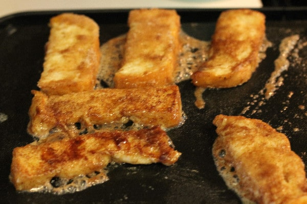 Snickerdoodle French Toast Strips brown