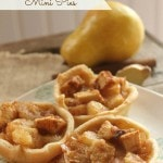 Ginger Pear Mini Pies