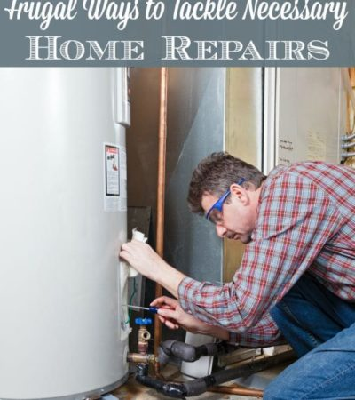 Frugal Ways to Tackle Necessary Home Repairs- These 5 tips will help keep your costs and stress levels low when an emergency repair is needed on your home.
