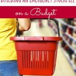 Working on building your emergency food stockpile? Don't break the bank to do it! This post will help you make sure you stay within your budget!
