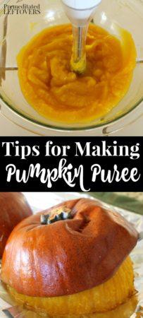 how to make pumpkin puree using roasted sugar pumpkins