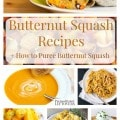10 Amazing Butternut Squash Recipes- Here are 10 butternut squash recipes to inspire you this fall as well as easy instructions for homemade squash puree.