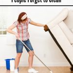 10 Places People Forget to Clean