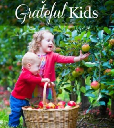 12 ways to raise grateful children. Use these tips to teach your kids to have an attitude of gratitude for everyone and everything they have.