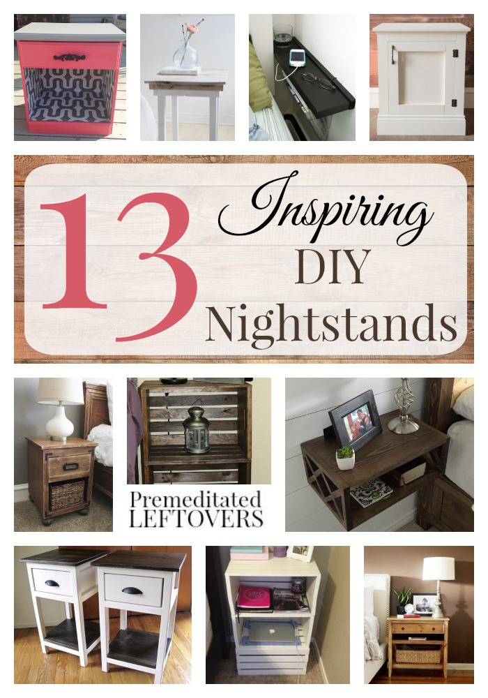 diy nightstand table ideas inspiring diy nightstands