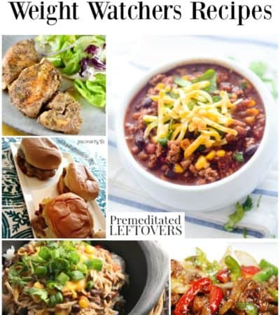 Slow cooker Weight Watchers Recipes