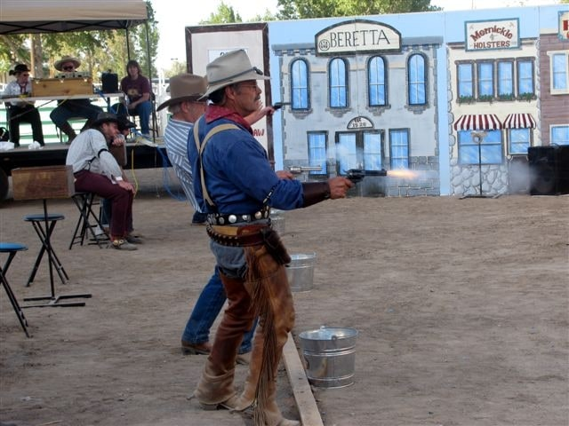 Cowboy Fast Draw Competition event in Nevada