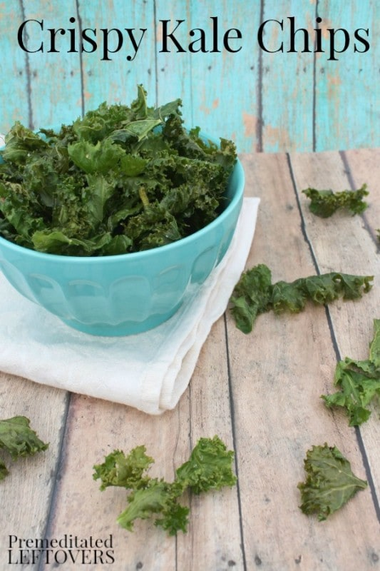 how to cook crispy kale chips