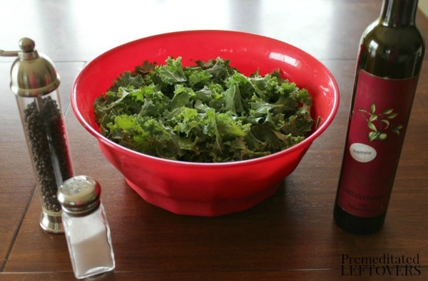 Crispy Kale Chips ingredients