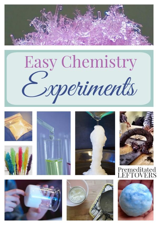 Easy Chemistry Experiments for Kids