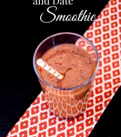Pumpkin, Blueberry, and Date Smoothies- Fall is the perfect time to whip up this delicious smoothie for a healthy dose of pumpkin, blueberries, and dates.