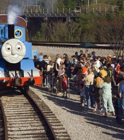 Ride Thomas the Tank Engine in Virginia City