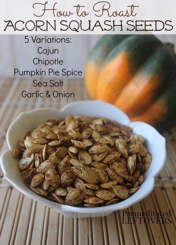 Roasted Five Spice Squash Seeds Recipe — Dishmaps