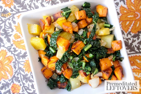 Sweet Onion and Potato Medley Skillet