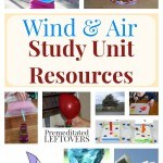 Wind and Air Study Unit Resources- These experiments, videos, and lessons will make learning about wind and air exciting even for young children.