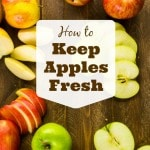 Keep these tips on how to keep apples fresh in mind to help your apples last longer. Here's what you need to know to get your money's worth.