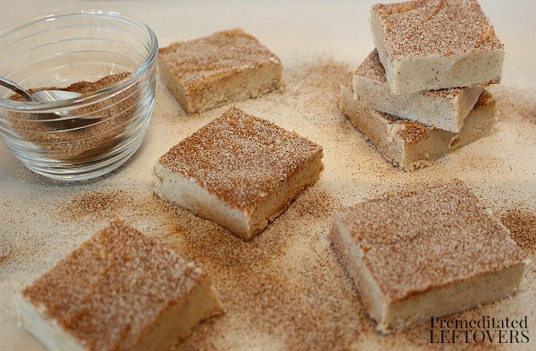 homemade snickerdoodle fudge recipe
