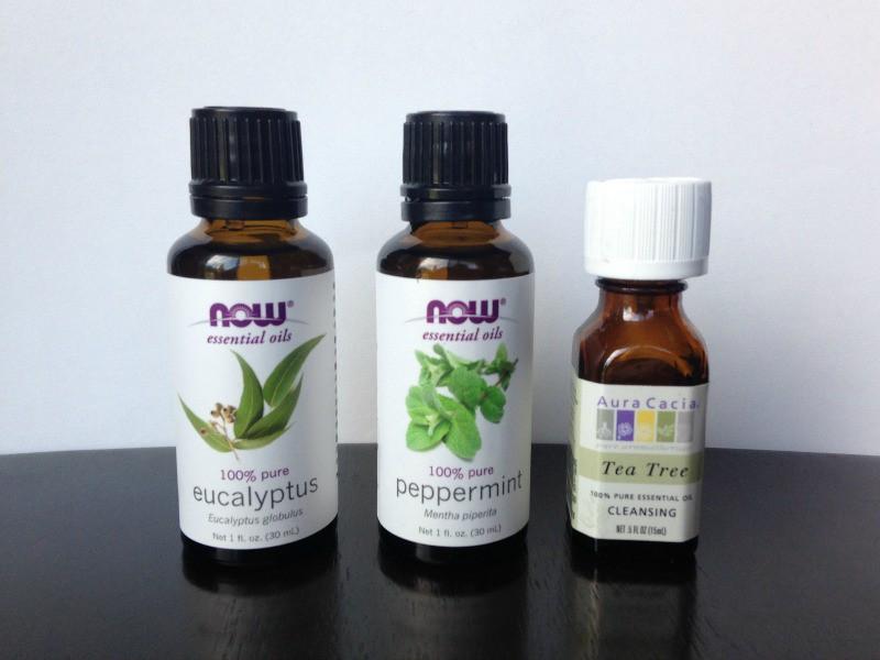 Homemade Lice Spray for Kids materials