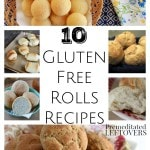 10 Gluten-Free Rolls Recipes- Use these recipes to bake gluten-free rolls everyone at your table will enjoy. They are a great addition to holiday meals!