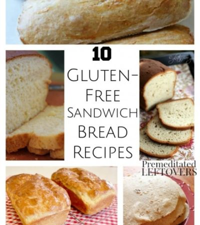 10 Gluten-Free Sandwich Bread Recipes- These sandwich bread recipes are easy to follow and produce gluten-free breads with great texture. Give them a try!