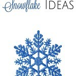 10 Printable Snowflake Ideas- These printable snowflakes are a fun and educational activity for kids. Keep them on hand for the cold and snowy days ahead.