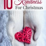 10 Random Acts of Kindness for Christmas- Christmas is the perfect time try these random acts of kindness. Doing so will surely bring joy to others!