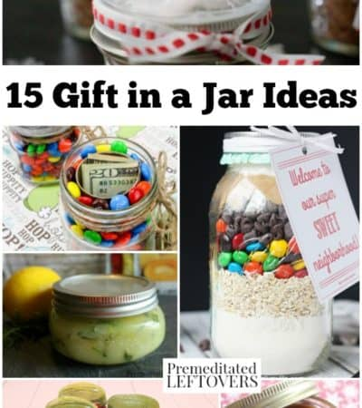 15 Gift in a Jar Ideas