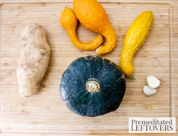 Butternut Squash Potato Soup Ingredients