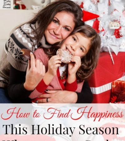 How to Find Happiness During the Holidays When You Are Broke- Enjoy the holidays despite financial stress or little income. These 6 frugal tips will help.