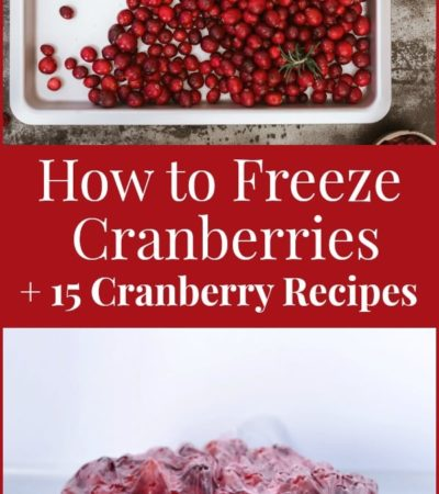 Check out these delicious cranberry recipes, including salads, desserts, and side dishes. You will also learn how to freeze cranberries to enjoy all year.