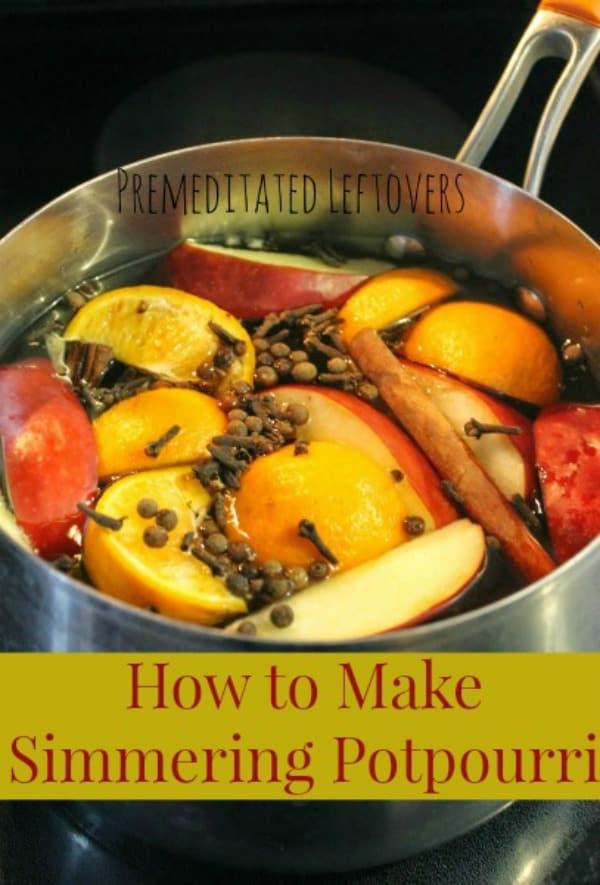 How to Make Simmering Potpourri Recipe and Tips