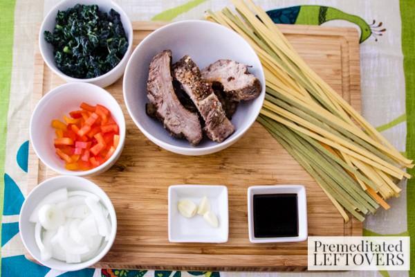 Pork Ribs and Kale Skillet