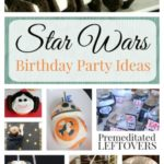 Star Wars Birthday Party Ideas- These amazing Star Wars themed decorations, games, and menu ideas are perfect for a birthday party or movie release party.