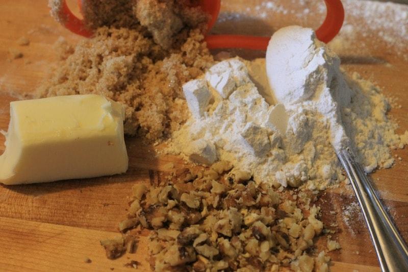 pecan shortbread cookies ingredients