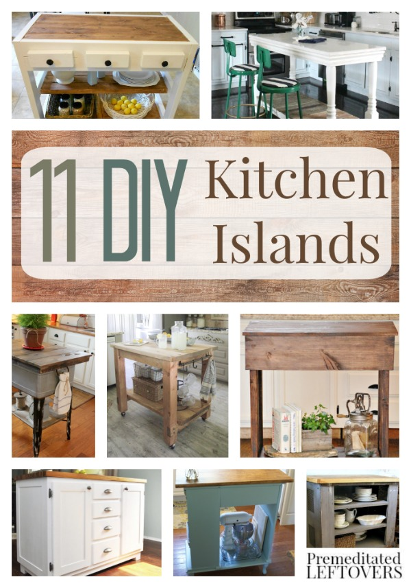 diy kitchen island ideas.  DIY Kitchen Islands