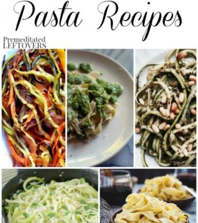 15 Gluten-Free Pasta Recipes- These gluten-free recipes include traditional flour noodles and noodle substitutes. Enjoy them with your favorite pasta sauce!