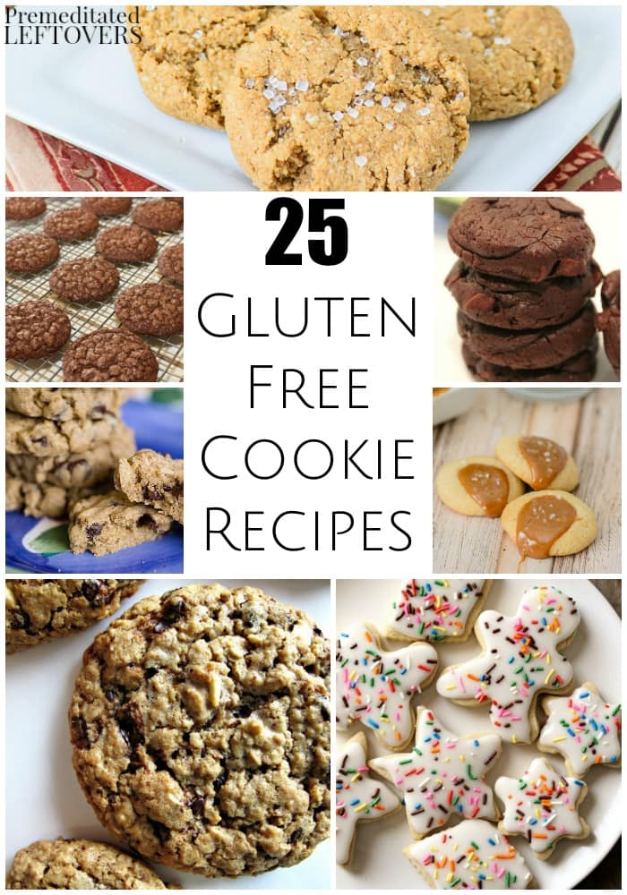 25 Gluten-Free Cookie Recipes - These gluten-free cookie recipes are ideal for packing in school lunches, serving at parties, or sharing in a cookie swap.