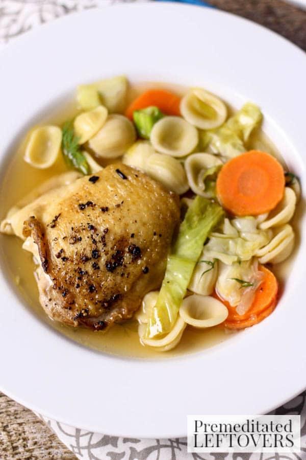Easy Chicken Collezione Soup final