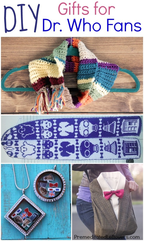 DIY Gifts for Dr Who Fans- Gifts for Whovians, Easy DIY Geeky gifts, Crafts for Dr Who Fans and fun gifts for Dr Who fans.