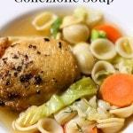 Easy Chicken Collezione Soup