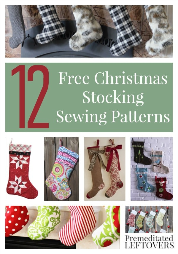 Free Sewing Patterns For Stockings Premeditated Leftovers