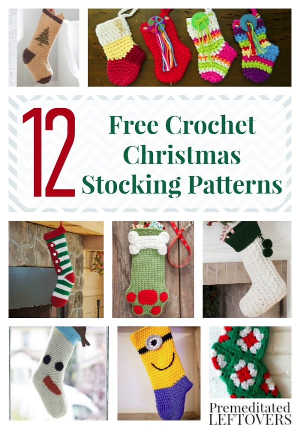 free crochet stocking patterns