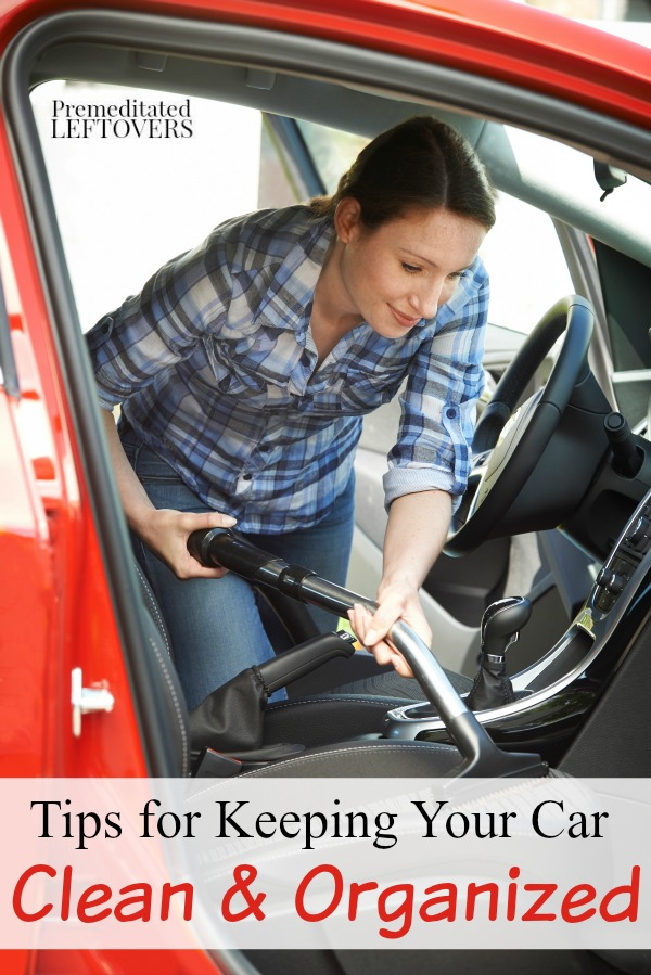 Ways to keep your car clean and clutter free - How to keep your car exterior clean ...