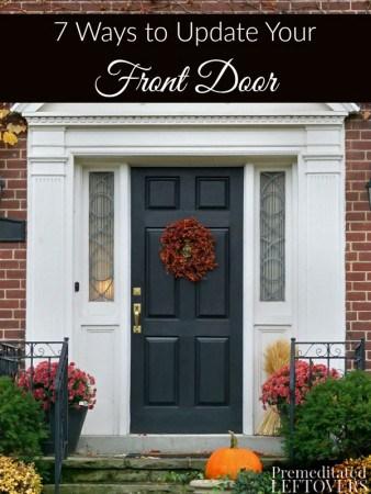7 Ways To Update Your Front Door