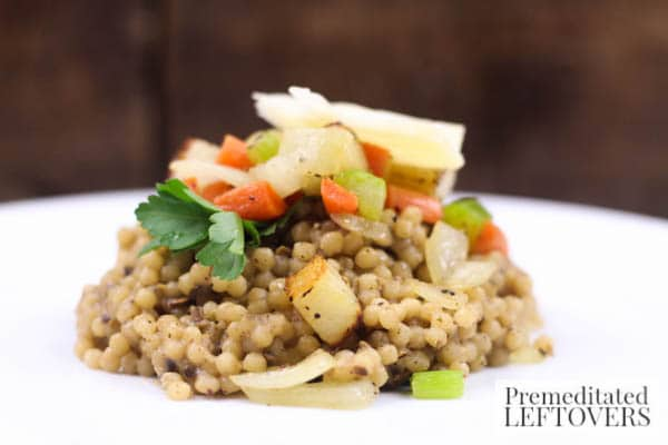 Easy Couscous Recipe With Vegetables