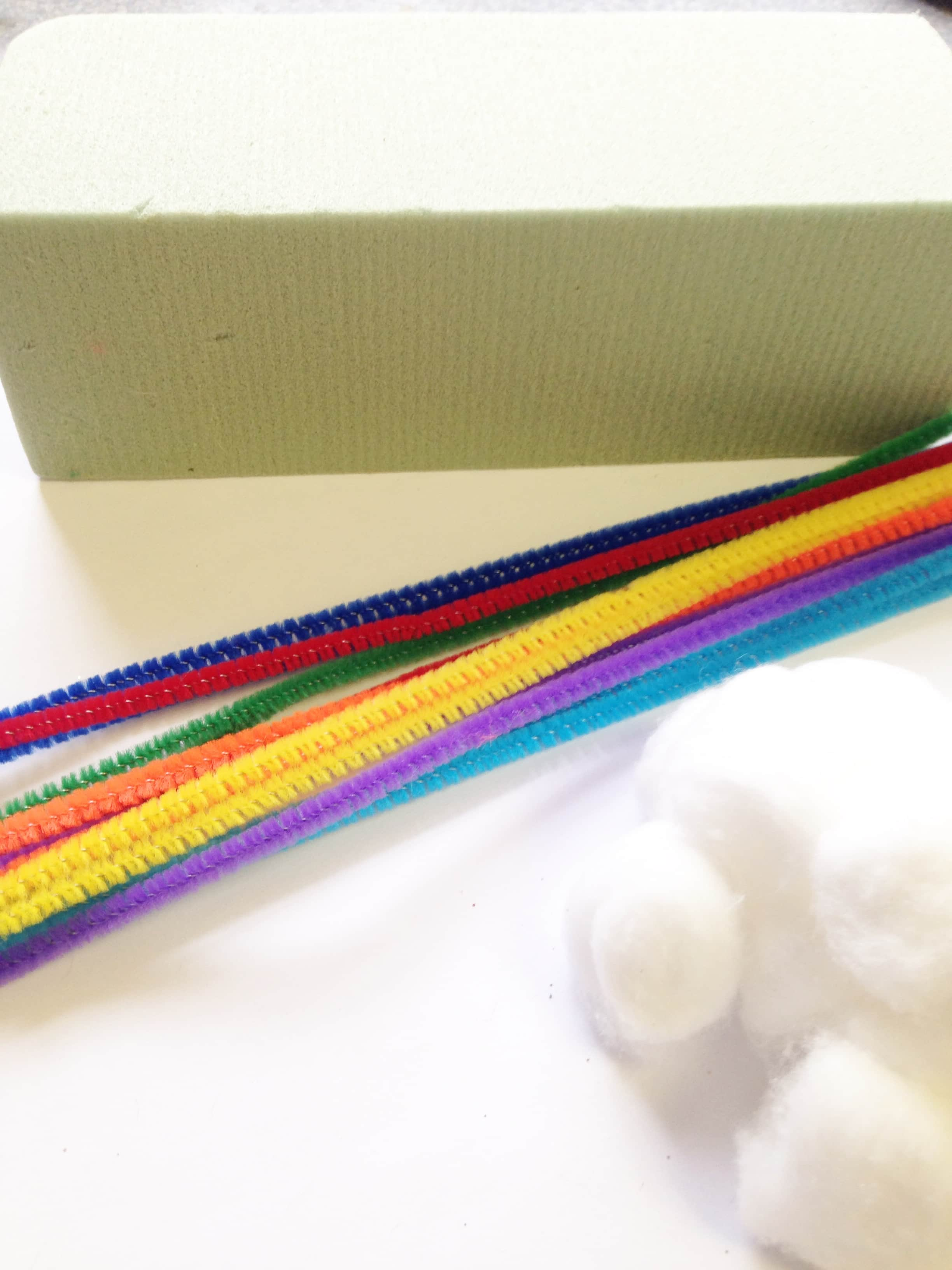 Build Your Own Rainbow Kit for Kids materials